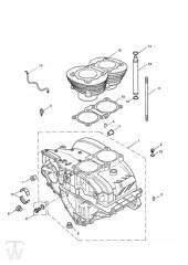 Motorgehäuse bis Motor221608 - America Vergaser