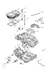 Motorgehäuse ab Motor221609 - America Vergaser
