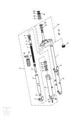 Telegabel - Bonneville EFI bis FIN380776