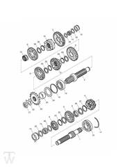 Getriebe - Bonneville & SE ab FIN380777