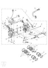 Einspritzung - Bonneville & SE ab FIN380777