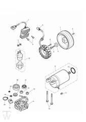 Anlasser Lichtmaschine - Bonneville & SE ab FIN380777