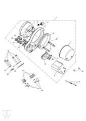 Instrument ab FIN442347 - Bonneville & SE ab FIN380777