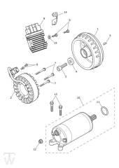 Anlasser Lichtmaschine - Bonneville T100 LC