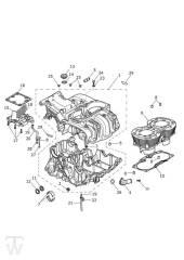 Motorgehäuse - Bonneville T100 LC
