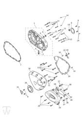 Motordeckel - Bonneville T100 LC