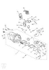 Luftfilterkasten - Bonneville T100 LC
