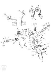 Lenker Schalter - Bonneville T100 LC