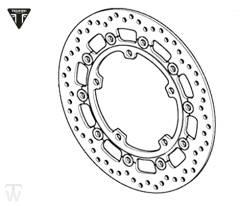 Bremsscheibe Speed Triple R ab FIN735437