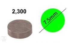 Ventilshim, 2.300 MM