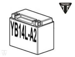 Batterie (YB14L-A2) (Säurebatterie, offen) Adventurer ab FIN 71699