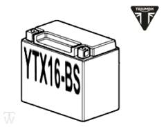 Batterie (YTX16-BS) (MF - wartungsfrei) Tiger XCx