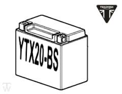 Batterie (YTX20L-BS) (MF - wartungsfrei) Trophy 1215