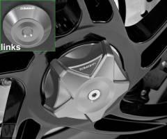 Achsabdeckung Hinterrad grau Speed Triple 1050 ab FIN333179