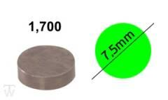Ventilshim, 1.700 MM