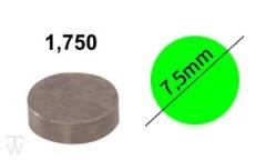 Ventilshim, 1.750 MM
