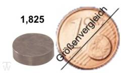 Ventilshim, 1.825 MM