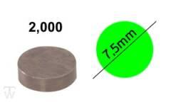 Ventilshim, 2.000 MM