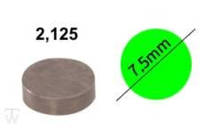 Ventilshim, 2.125 MM