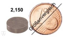Ventilshim, 2.150 MM