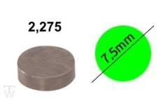 Ventilshim, 2.275 MM