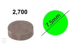 Ventilshim, 2.700 MM