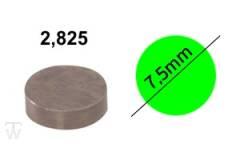 Ventilshim, 2.825 MM