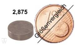Ventilshim, 2.875 MM