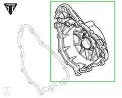 Lichtmaschinendeckel (Details)