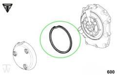 Kupplungsdeckeldichtung Gummi (Details)