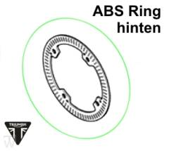 ABS Pulserring hinten Speed Triple R ab FIN735437