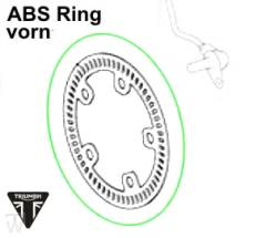 ABS Pulserring vorn Thunderbird Commander