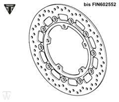 Bremsscheibe Speed Triple R bis FIN735436