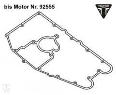 Ölwannendichtung (bis MotorNr.92555) Speed Triple T509 bis FIN141871