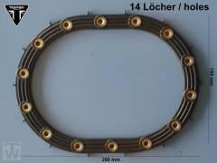 Benzinpumpendichtung oval (bis E25) America EFI bis FIN468389