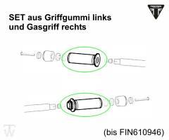 Griffset / L(Gummi) + R(Gasgriff) Rocket III Roadster