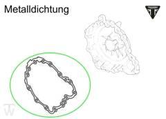 Lichtmaschinendeckeldichtung Metall (Details)