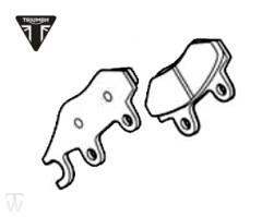 Bremsbeläge Bonneville T120 Black