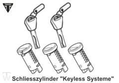 Set Schliesszylinder & Schlüssel (für keyless-Systeme) Tiger 1200 XCA